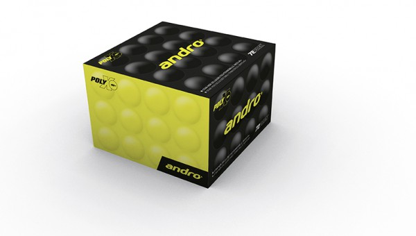 """Andro """"Poly X 1* Trainer Cell-Free / 72 Stück"""""""