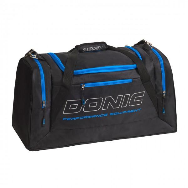 DONIC Sporttasche Sentinel schwarz-cyan