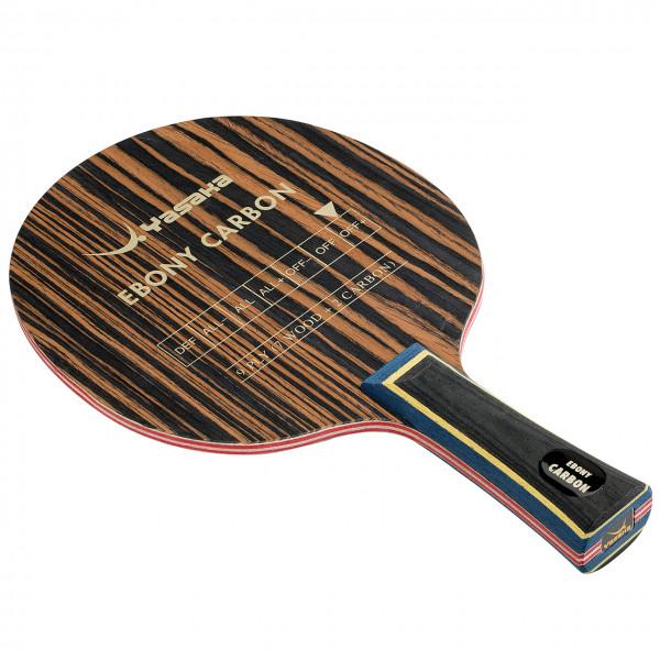 Tischtennis Holz Yasaka Ebony Carbon
