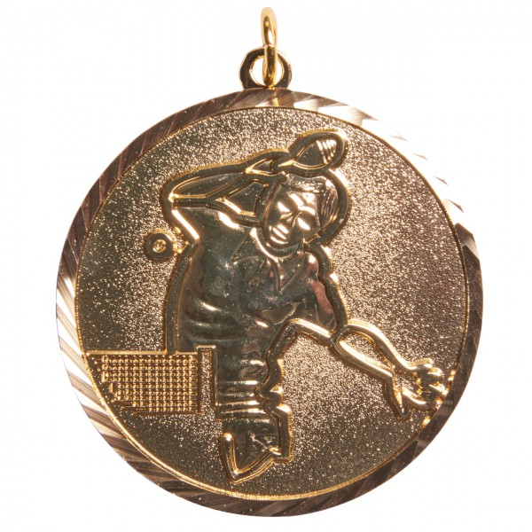 Medaille Spieler gold