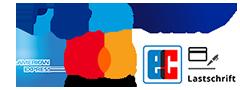 Zahlungsmöglichkeiten Logos