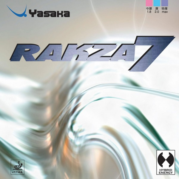 Tischtennis Belag Yasaka Rakza 7 Cover