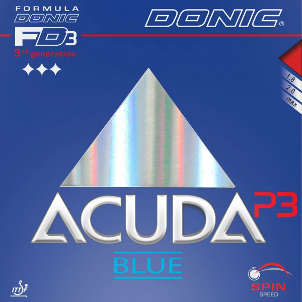 Tischtennis Belag DONIC Acuda Blue P3 Cover