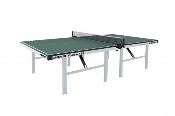 Tischtennis Tisch DONIC Compact 25 grün