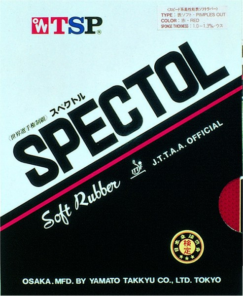 Tischtennis Belag TSP Spectol Cover