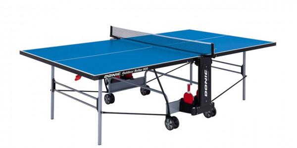 Tischtennis Tisch DONIC Outdoor Roller 800 -5 blau