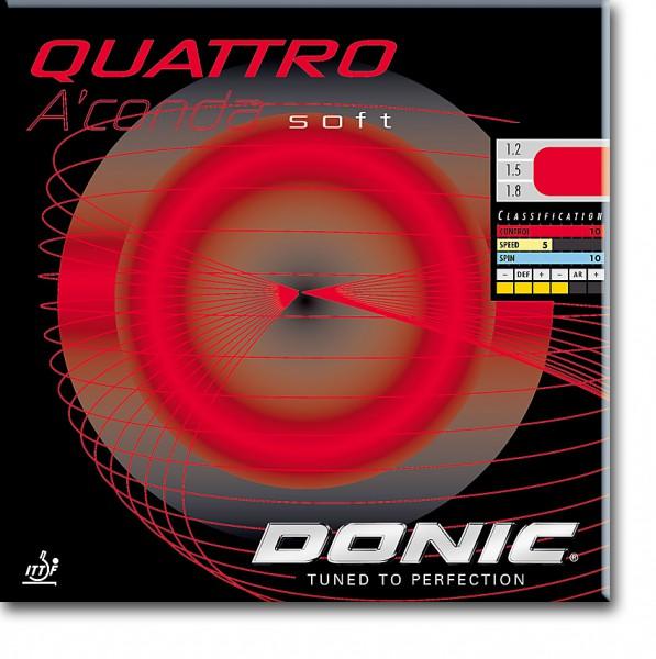 """DONIC """"Quattro A'Conda SOFT"""""""