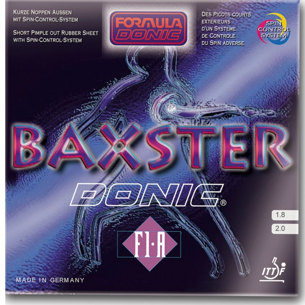 Belag DONIC Baxster F1-A