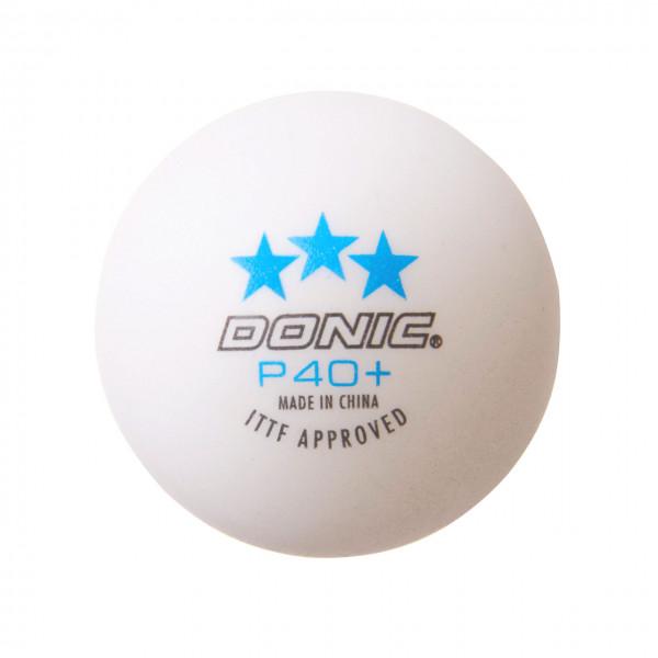 Tischtennis Ball DONIC P40+ 3 Star