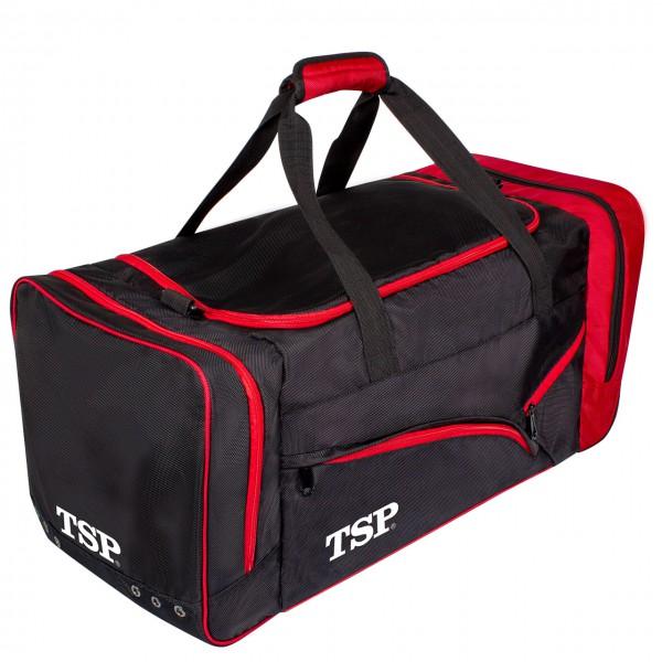 Tischtennis Sporttasche TSP Akira Travel schwarz-rot