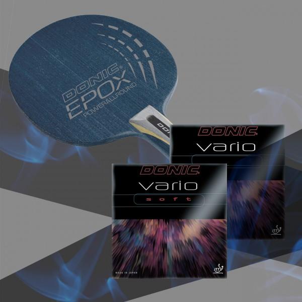Komplettschläger DONIC EPOX Powerallround / Vario / Vario Soft