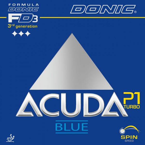 Tischtennis Belag DONIC Acuda Blue P1 Turbo Cover