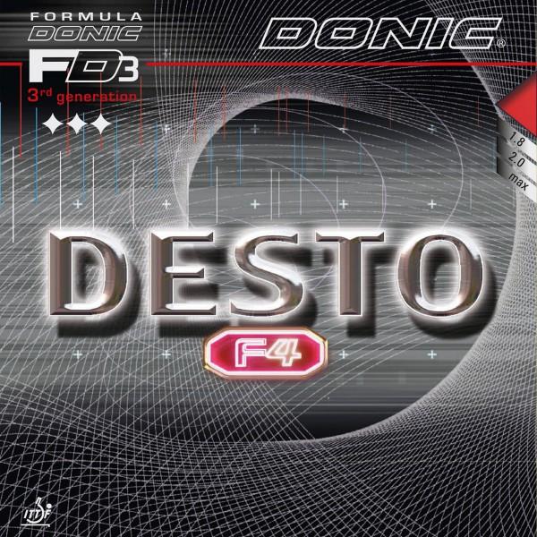 Tischtennis Belag DONIC Desto F4 Cover