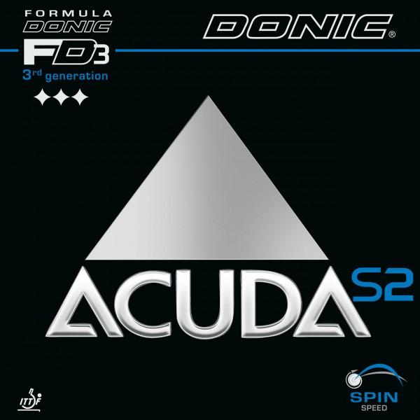 Tischtennis Belag DONIC Acuda S2 Cover