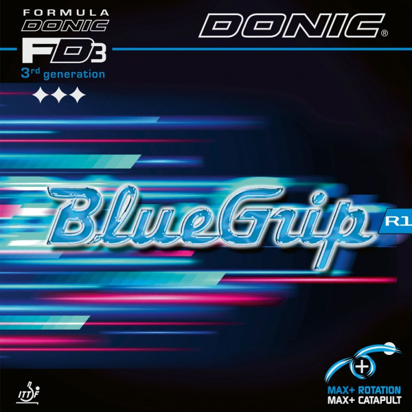 Tischtennis Belag DONIC BlueGrip R1 Cover