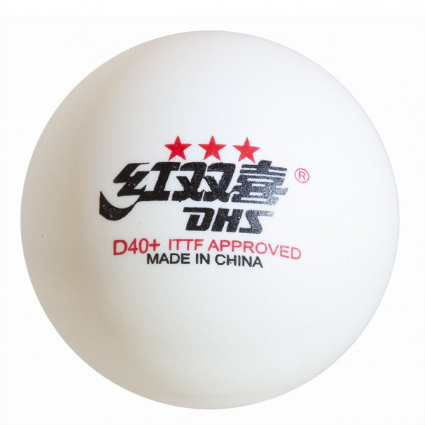 Tischtennis Ball Double Happiness Dual ABS *** 40+