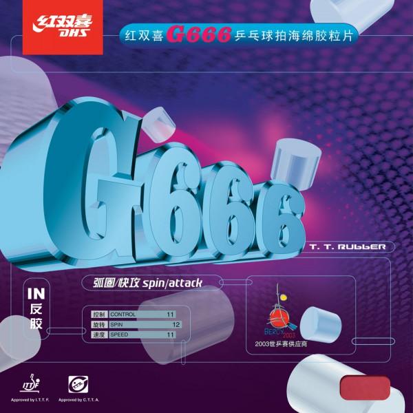 Tischtennis Belag DHS G666 Cover