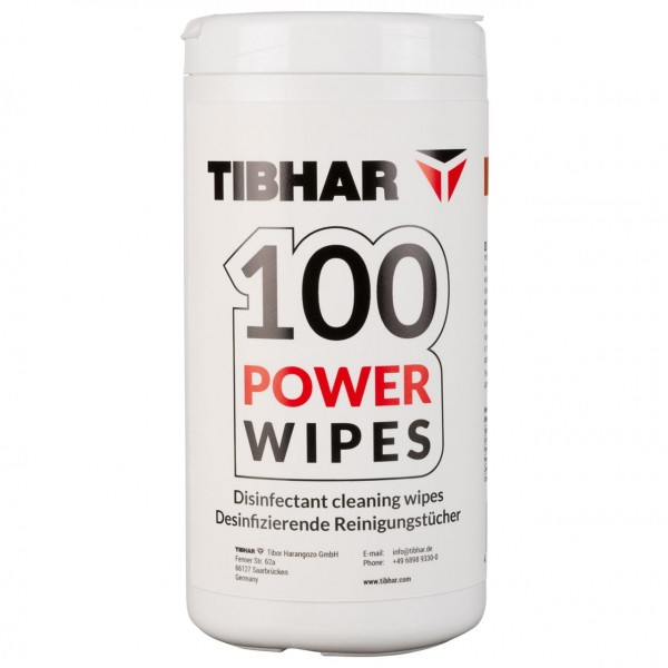 Tibhar Reiniger 100 Power Wipes
