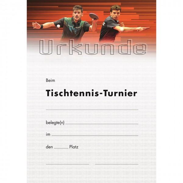 Tischtennis Urkunde Motiv Geraldo / Dyjas 2019 TT-Turnier