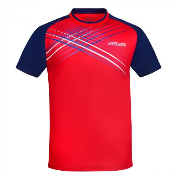 DONIC T-Shirt Attack rot/marine