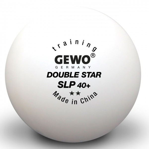 Tischtennis Ball GEWO Double Star SLP 40+