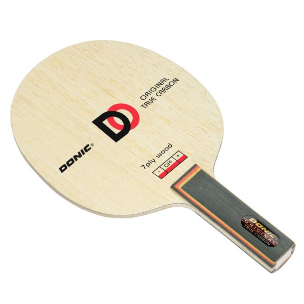 Tischtennis Holz DONIC Original True Carbon