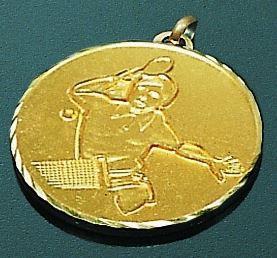 Medaille 50 mm Spieler