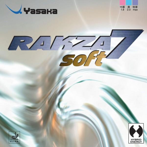 Tischtennis Belag Yasaka Rakza 7 Soft