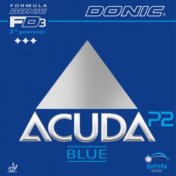 Tischtennis Belag DONIC Acuda Blue P2 Cover