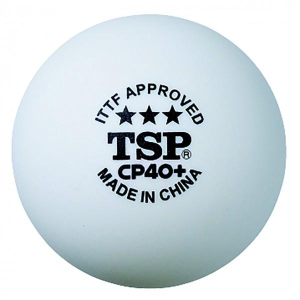 Tischtennis Ball TSP CP 40+ ***