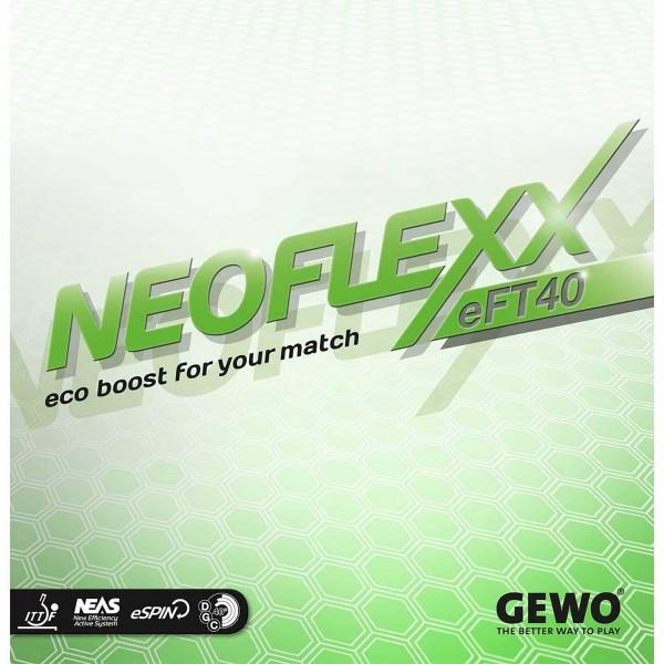 Tischtennis Belag Gewo Neoflexx eFT 40 Cover