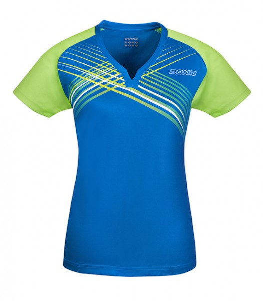 DONIC Shirt Riva Lady danube blau