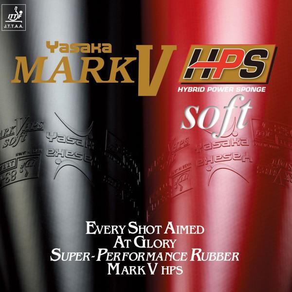 Tischtennis Belag Yasaka Mark V HPS Soft