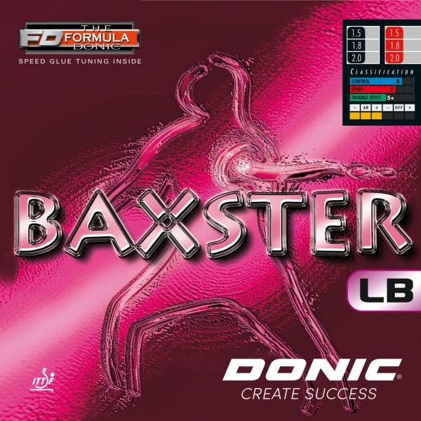 Tischtennis Belag DONIC Baxster LB Cover