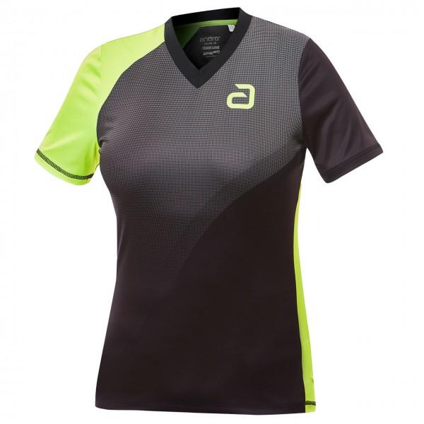 Tischtennis Shirt andro Campell Women Brust