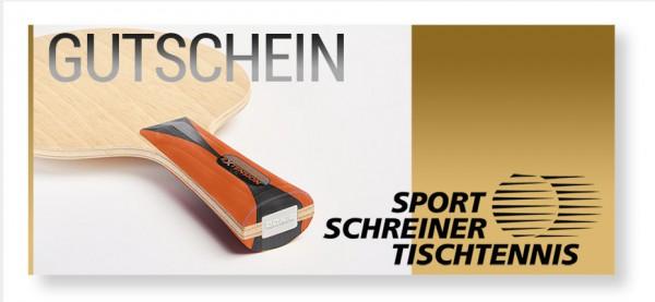 frei definierbarer Sport Schreiner Tischtennis Gutschein