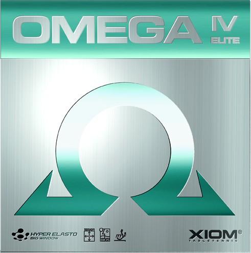 Tischtennis Belag XIOM Omega IV Elite Cover