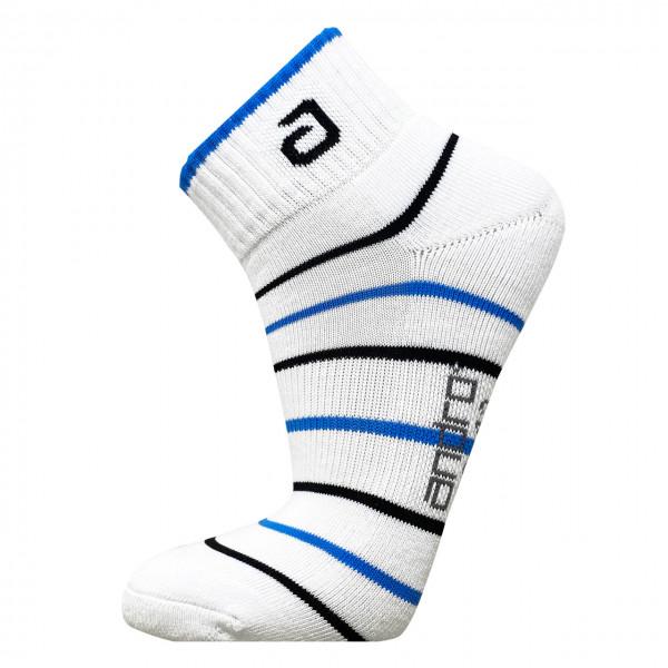 Tischtennis Socke andro Pace weiß/blau