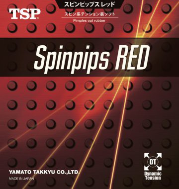 "TSP ""SpinPips Red"""