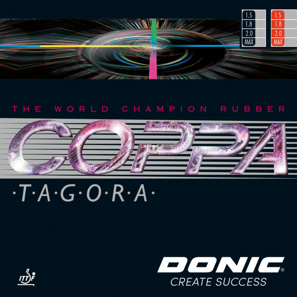 Tischtennis Belag DONIC Coppa Tagora Cover