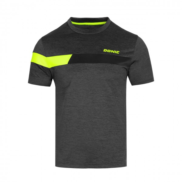 Tischtennis T-Shirt DONIC Stunner schwarz Brust