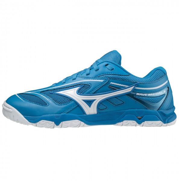 Tischtennis Schuh Mizuno Wave Medal 6 blau