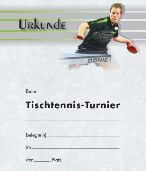 Urkunde Motiv Baum TT-Turnier