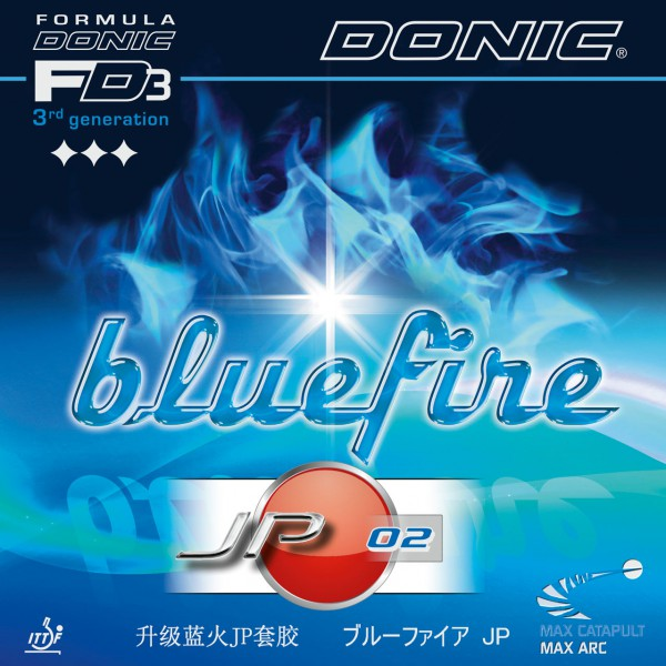 Tischtennis Belag DONIC Bluefire JP02 Cover