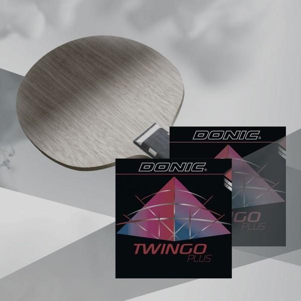 DONIC Waldner Exclusive AR / Twingo Plus