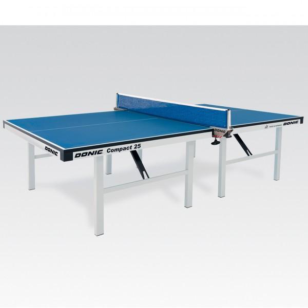 Tischtennis Tisch DONIC Compact 25 blau