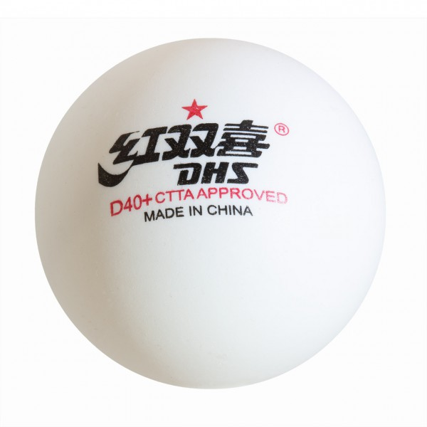 Tischtennis Trainingsball Double Happiness Dual ABS * Cell-Free