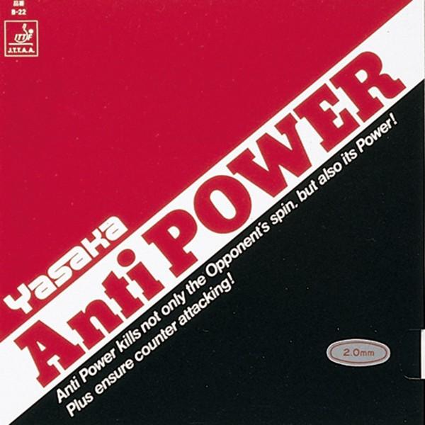 Tischtennis Belag Yasaka Anti Power Cover