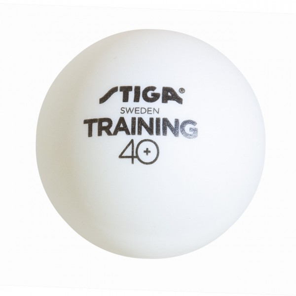 Tischtennis Trainingsball Stiga Training ABS  weiß