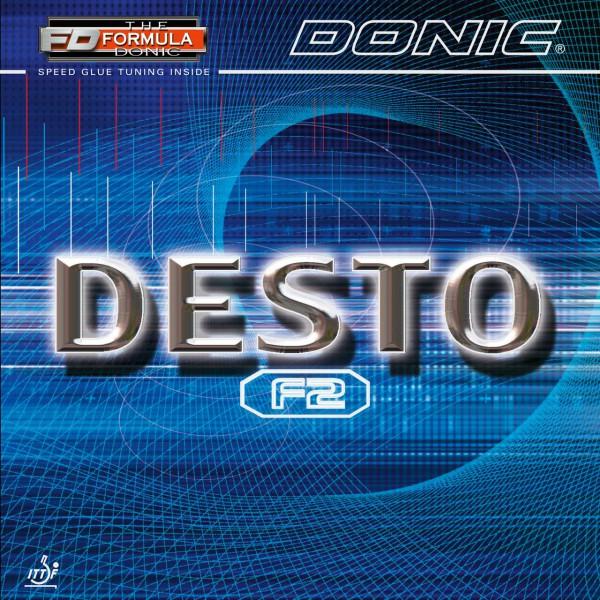 Tischtennis Belag DONIC Desto F2 Cover